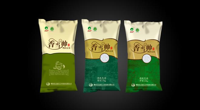 丰田米业包装设计案例